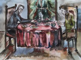 Dinner for Two by Cassiuseos