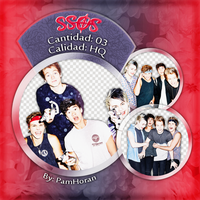 Photopack PNG / 5 Seconds Of Summer / 26 by PamHoran