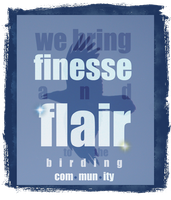 Finesse and Flair by verybluebird