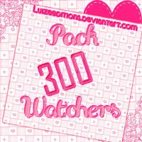 ~Pack 300 Watchers~  ZIP(Contra en la descripcion) by LuizaEditions