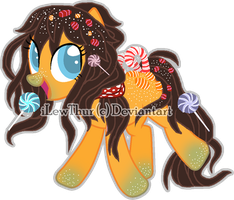 Candy Themed [Pony Adopt](3) C L O S E D by iLewThur
