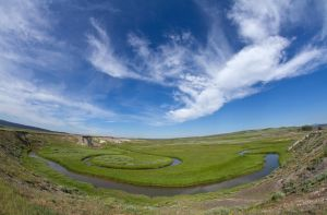 trout creek - fisheye by eDDie-TK