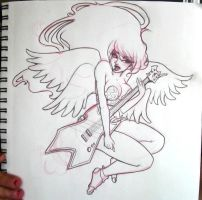 Angel of Rock by Victoria-Star