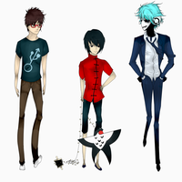 Yuumei's Chatacters by AniXancy