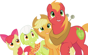 The Apple Family by Squeemishness