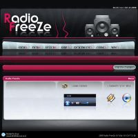Radio Website Design 2 by ItaRoyaNx