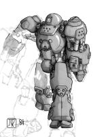 Power Armor 02 _Iron Curtain_ by Postman6611