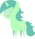 Pointy Pony: Starry Sea (Contest Prize 2) by foxgirlKira