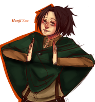 Miss Hanji No-Glasses by TemporaryCrayon