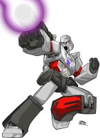 COMMISSION- MEGATRON by dovianax
