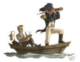 Aubrey and Maturin by OtisFrampton