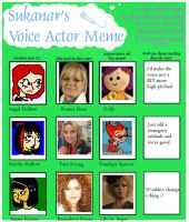 Voice Actor Meme by LittleMnM