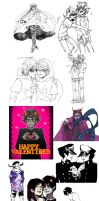 Homestuck dump by erotatsu