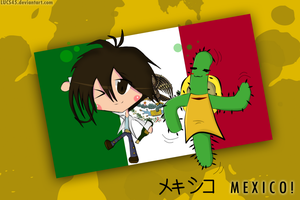 Hetalia Mexico by LUCS45