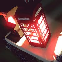 London Lamp by cafeinexpression