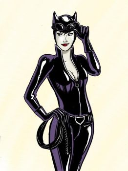 Catwoman by axt234