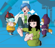 What Could've Been: Bulma and the Pilaf Gang by GreenJack21