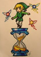 The Hourglass by Kixii