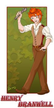 Henry Branwell Card - The Inventor by amisam