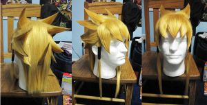 Jack Atlas wig commission by Malindachan
