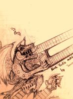 Guitar Dragon by GRAVEMIND1110