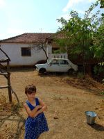 Child in macedonian village by Neshom