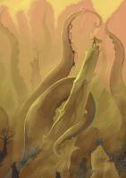 Above the sand storm by Brissinge