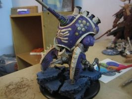 Cryx Kraken WIP by thevampiredio