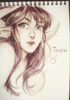 Taurus by Wernope