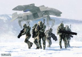 WHITE OPS by icedestroyer