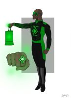 Green Lantern by AndrewCM