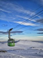 Cable car by cristilaceanu