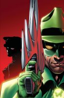 Green Hornet 18 cover by Wesflo
