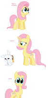 Fluttershy - All Pony Races by Pupster0071