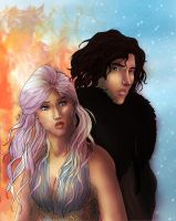 A song of ice and fire by PetiteLilen