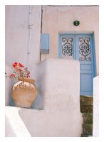 Blue door two. by Skorpix