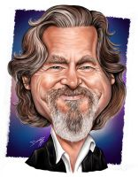 Jeff Bridges Caricature by DarDesign