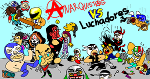 Luchas by CALEBJEZREEL