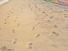 foot steps by CrazyNalin