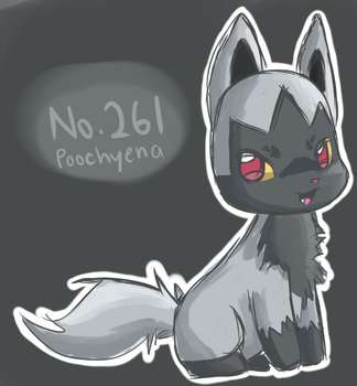 Poochyena by No0bieKidz