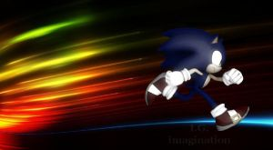 Sonic The Hedgehog - Wallpaper 9 by I-G-imagination