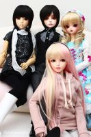 My Family SD Group by wawa-station