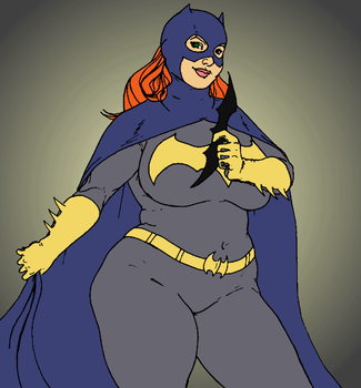 Barbara Gordon - Colored by Atlya