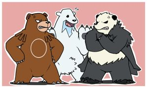 Trio Ursus by ShinodaHamazaki