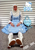 Muslim Lolita by sugar-noor