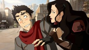 Mako and Asami part one by xDDxxD