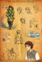 Eragon sketches by Ticcy