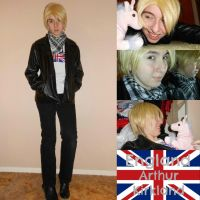 Anime-ZAP! 2013: England Cosplay by Missywoot1124