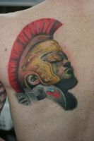 The Last Centurion Finished by Lucky-Cat-Tattoo