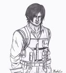 Agent Leon S. Kennedy by Peazil